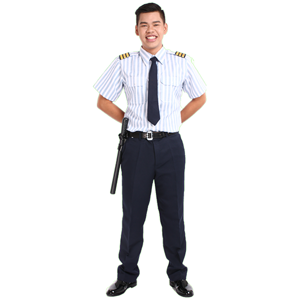 Security guard uniform and its accessories  0
